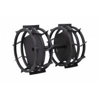 Метални колела комплект FORTECO - 340x130 mm