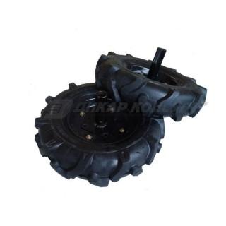 Комплект гуми с полуоски за мотофреза FORTECO