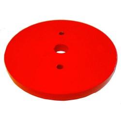 Комплект тежести за метални колела за мотофреза FORTECO - големи